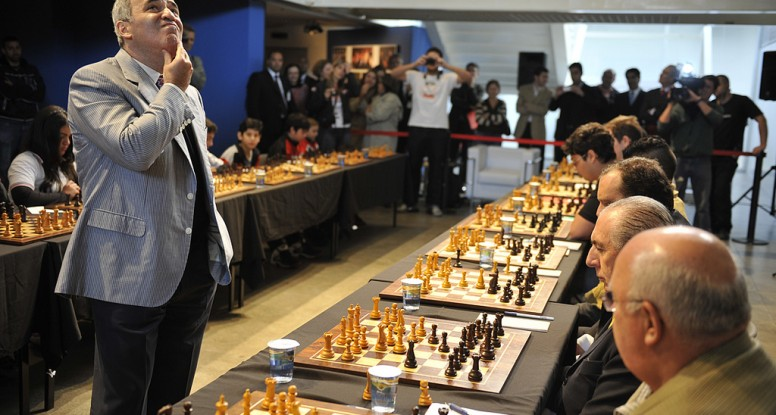 Kasparov Making Decsions