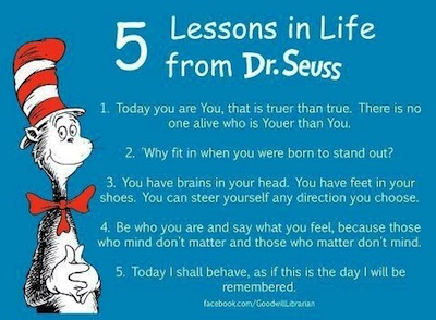 dr suess quote cartoon image