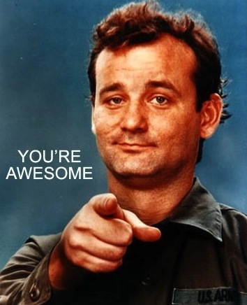 you're awesome quote