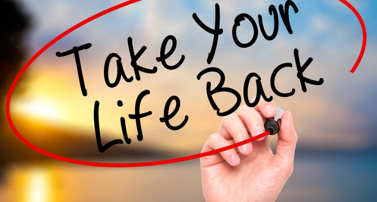 Take control back of your life