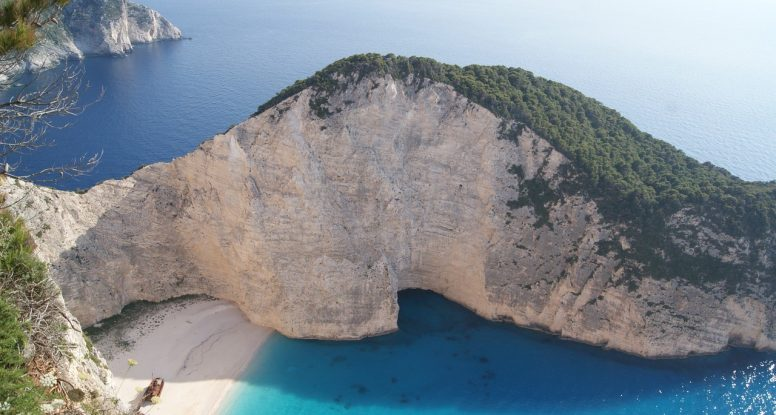 Beach in Zante