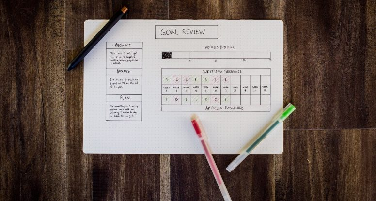 goal setting wrong planner